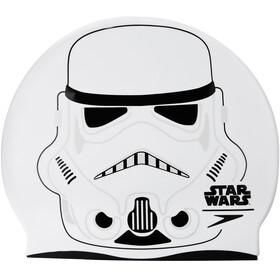 speedo Stormtrooper Slogan Badehette Barn Hvit/Svart